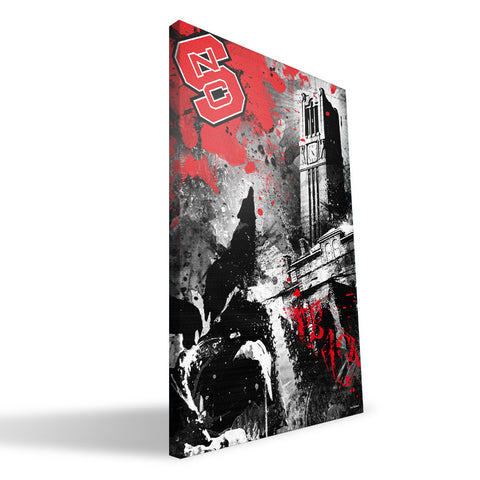 NC State Wolfpack Spirit Canvas Print