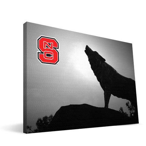 NC State Wolfpack  Wolfpack Statue Canvas Print