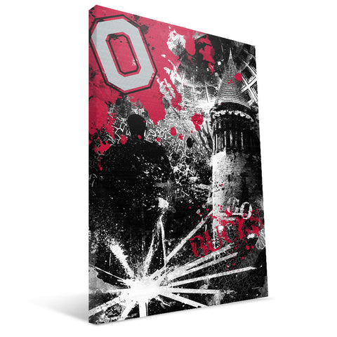 Ohio State Buckeyes Spirit Canvas Print