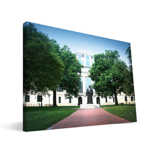 Ohio State Buckeyes William Oxley Thompson Library Canvas Print
