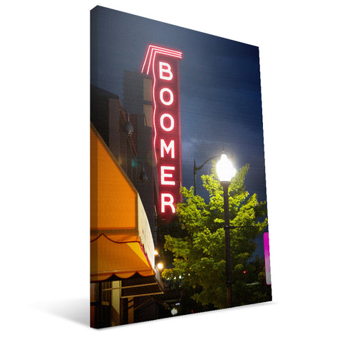 Oklahoma Sooners Boomer Sign Canvas Print