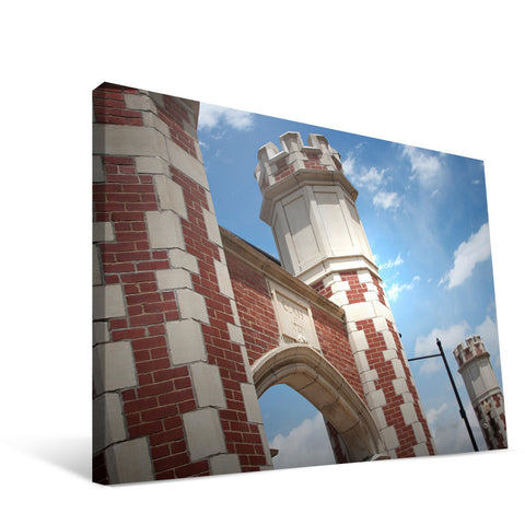 Oklahoma Sooners Gateway Arches Canvas Print