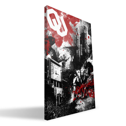 Oklahoma Sooners Spirit Canvas Print