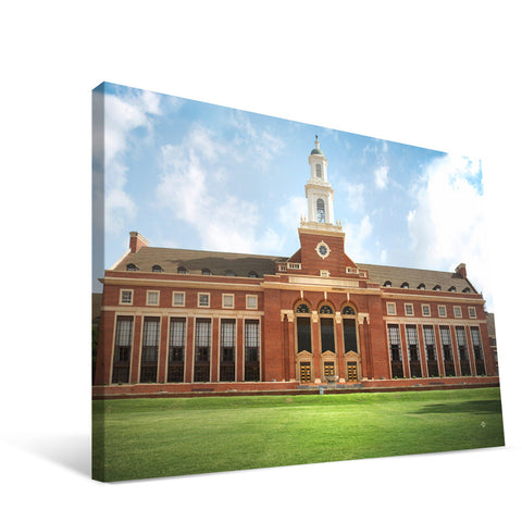 Oklahoma State Cowboys Edmon Low Library Canvas Print
