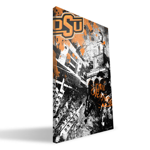 Oklahoma State Cowboys Spirit Canvas Print
