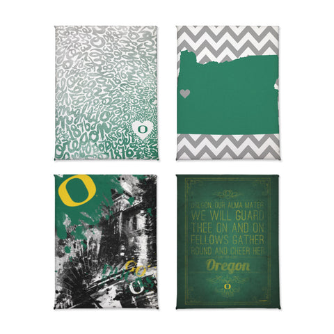 Oregon Ducks Classics Magnet Set