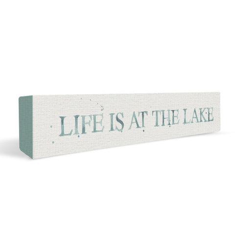 Outdoors 03x12 Life Is At The Lake Shelf Block