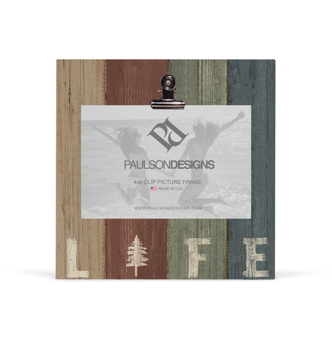 Life Picture Frame with Clip