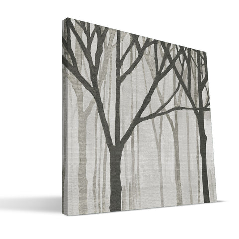 Tree Silhouettes Canvas Print