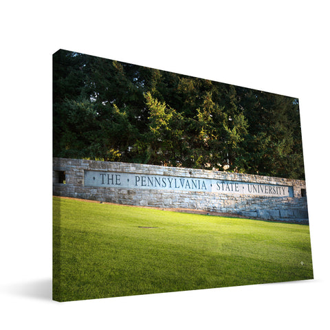 Penn State Nittany Lions Campus Entry Canvas Print