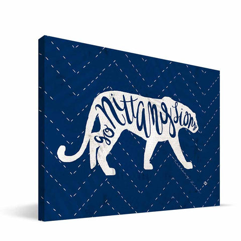 Penn State Nittany Lions Mascot Canvas Print