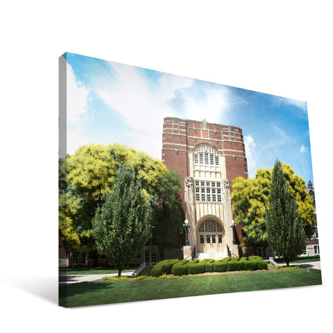 Purdue Boilermakers Campus Entry Canvas Print