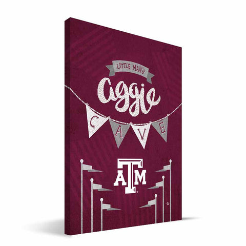 Texas A&M Aggies Little Man Canvas Print