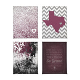Texas A&M Aggies Classics Magnet Set