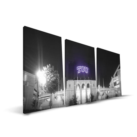 TCU Horned Frogs Amon G. Carter Stadium Canvas Print