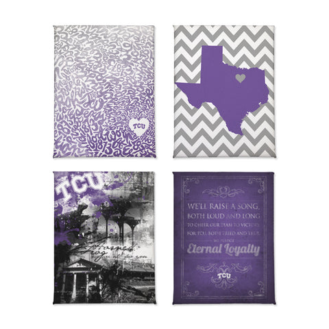 TCU Horned Frogs Classics Magnet Set
