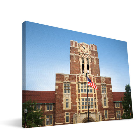 Tennessee Volunteers Ayres Hall Canvas Print