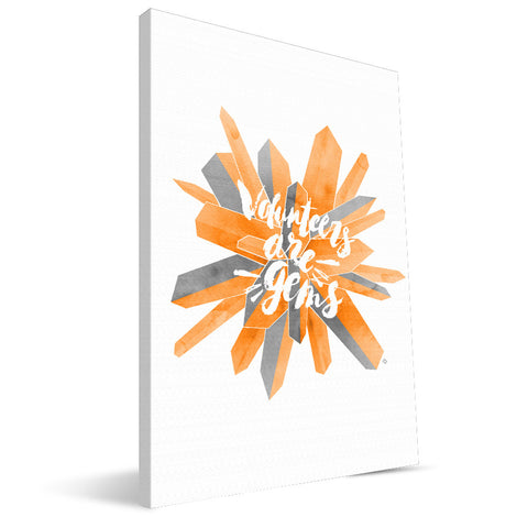 Tennessee Volunteers Gem Canvas Print