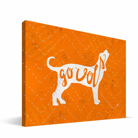 Tennessee Volunteers Mascot Canvas Print