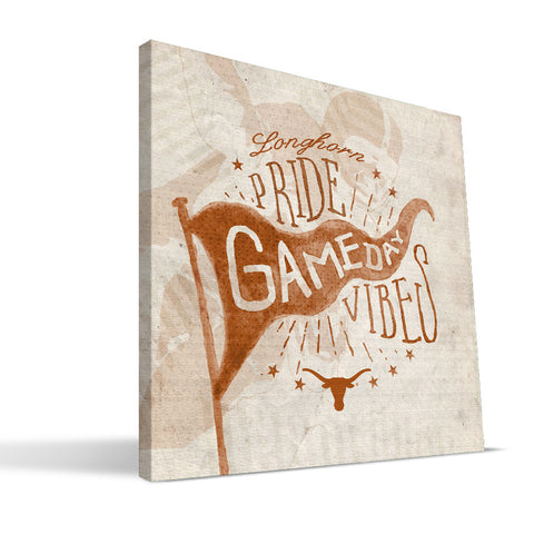 Texas Longhorns Gameday Vibes Canvas Print