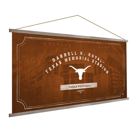 Texas Longhorns Stadium Banner