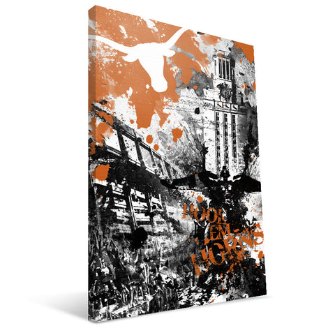 Texas Longhorns Spirit Canvas Print