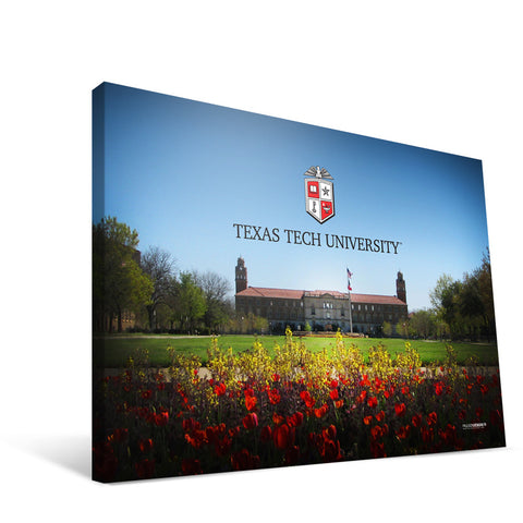 Texas Tech Red Raiders Administration Building Canvas Print