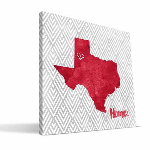 Texas Tech Red Raiders Home Canvas Print