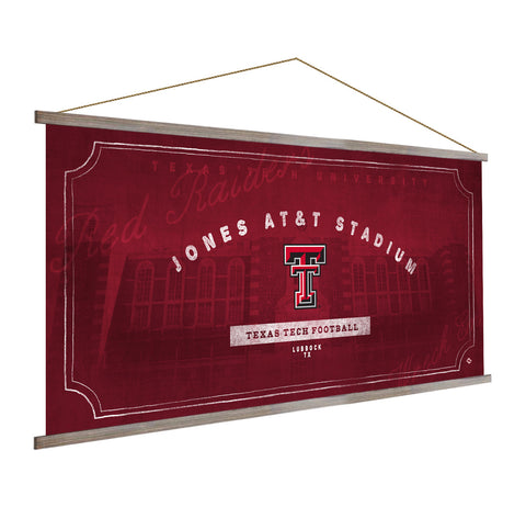 Texas Tech Red Raiders Stadium Banner