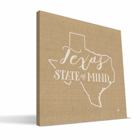Texas State of Mind Canvas Print