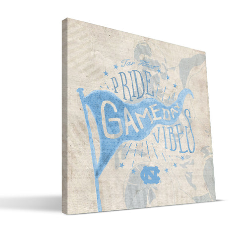 North Carolina Tar Heels Gameday Vibes Canvas Print