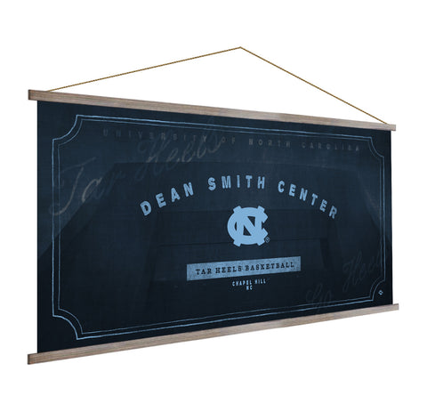 North Carolina Tar Heels Stadium Banner