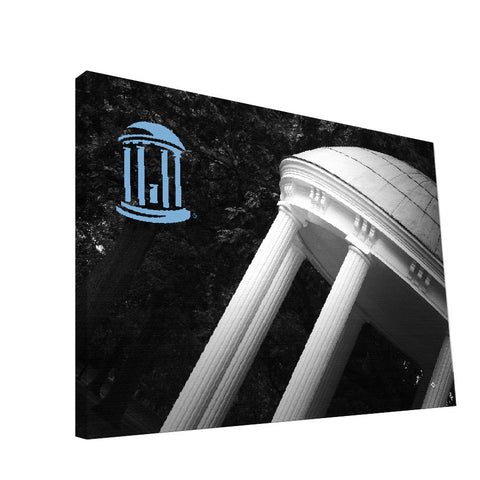 North Carolina Tar Heels Old Well Canvas Print