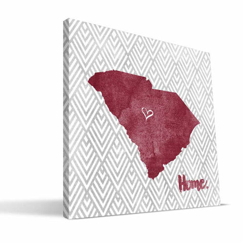 South Carolina Gamecocks Home Canvas Print