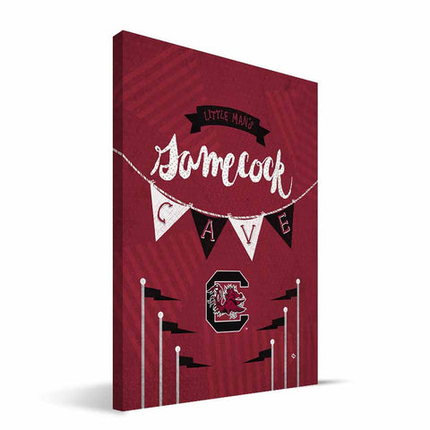 South Carolina Gamecocks Little Man Canvas Print