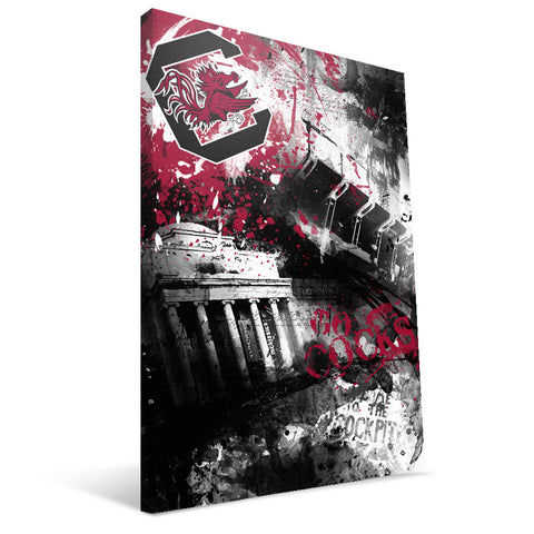 South Carolina Gamecocks Spirit Canvas Print