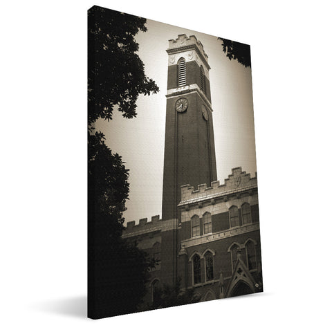 Vanderbilt Commodores Kirkland Hall Tower Canvas Print
