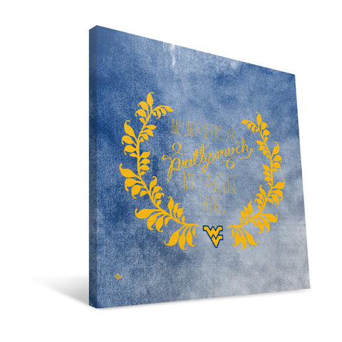 West Virginia Mountaineers Favorite Thing Canvas Print
