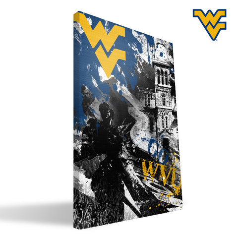 West Virginia Mountaineers Spirit Canvas Print