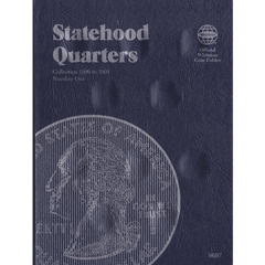 1999-2001 Statehood Quarter Whitman Trifold No 9697 Coin