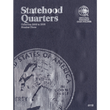 2006-2008+09 Statehood Quarter New Whitman Trifold No 8112 40 Coin Slot Coin