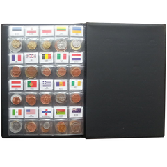 60 Countries Coins Collection Set Fine Coins  Original Genuine