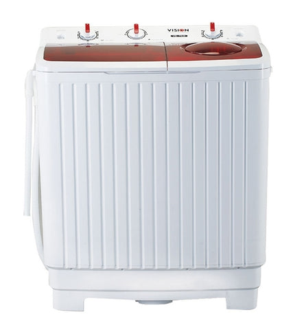 Vision Twin Tub Washing Machine 7Kg 801706 By Vision Emporium (WM-0O9)