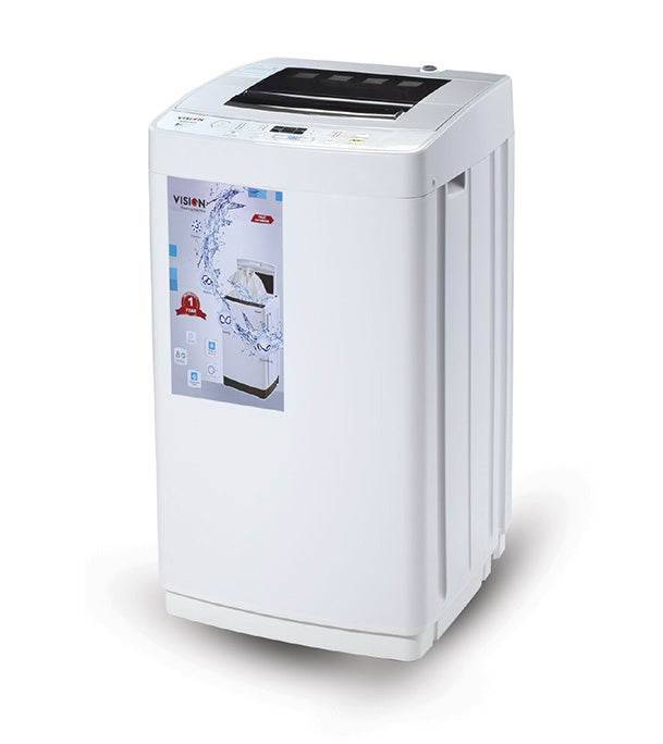 Vision Automatic Washing Machine 6kg 801704 By Vision Emporium (WM-010)