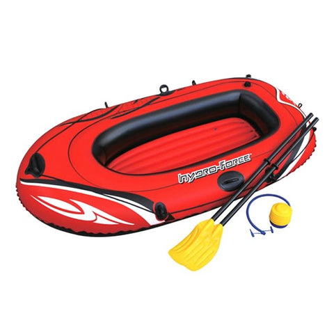 Top Bangla Bestway Fishing, Camping And Traveling Air Boat - Red(GA-030)