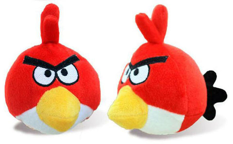 Red Angry bird doll (AB-003)