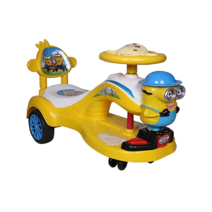 Mamun Trading Auto Car Minion - Yellow(BCS-007)