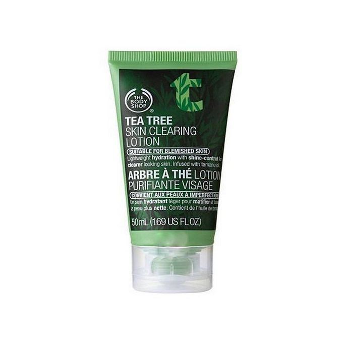 The Body Shop Tea Tree Skin Clearing Lotion Suitable for Blemished Skin