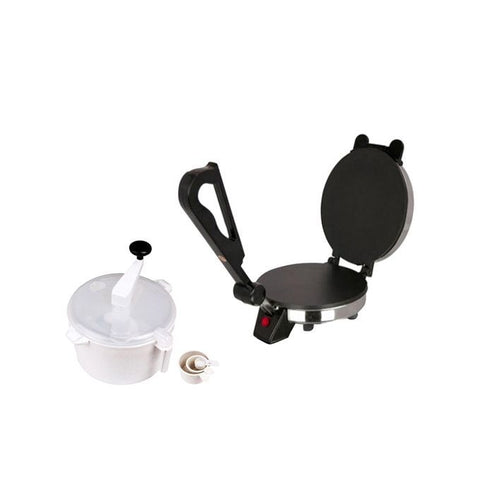 Electro Mart Easy Dough Maker and Roti Maker Combo - Buy 1 Get 1 Free - Black (RM-003)
