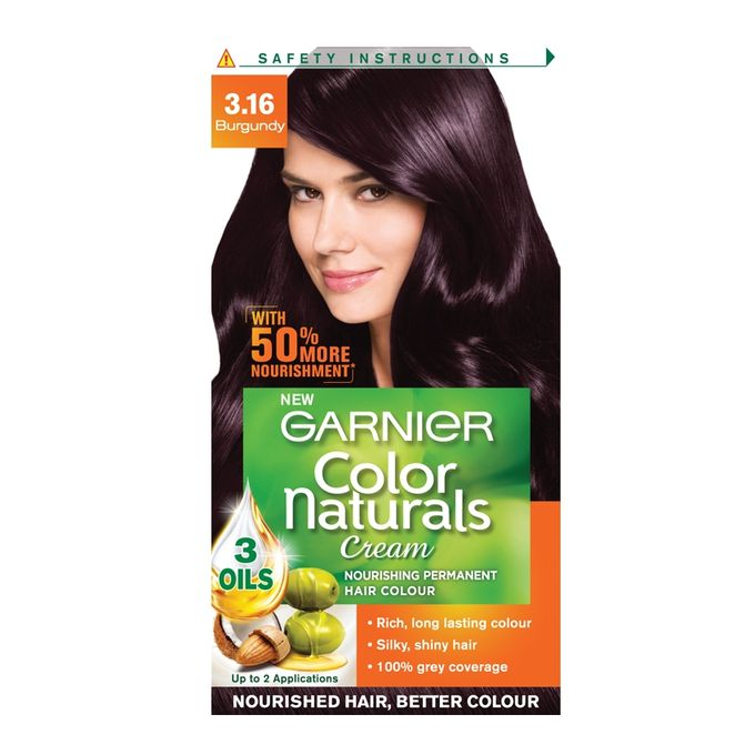 Garnier Color Naturals Shade 3.16 (Burgandy) - 29ml + 16g (WHC-015)